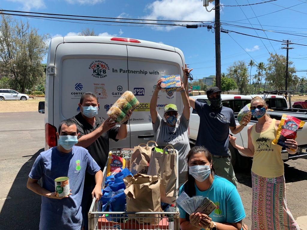 Kauai Food Bank Drop Off